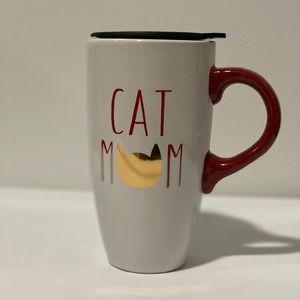 Cat Mom Travel Mug